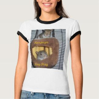 Sanjaya and Sing Sing Sheeskin T-Shirt