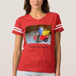 Sanjaya and SingSing T-shirt