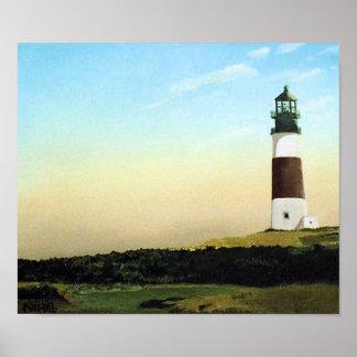 Sankaty Head Nantucket Lighthouse Art Print