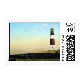 Sankaty Head Nantucket Lighthouse Postage Stamps
