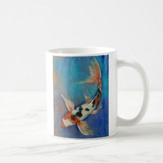 Sanke Butterfly Koi Mug