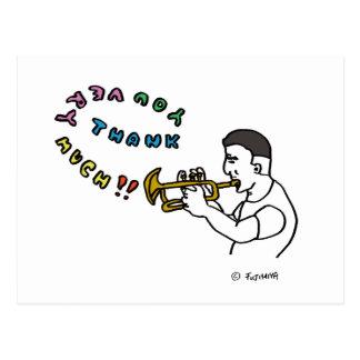 sankiyu very match (trumpet compilation) post card