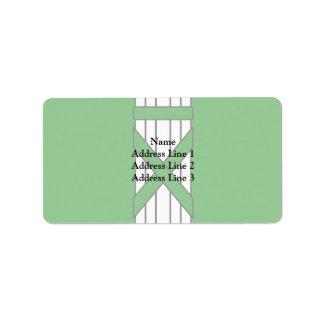 Sankt Gallen, Switzerland Address Label