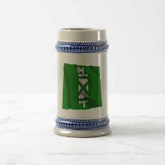 Sankt Gallen Waving Flag Beer Stein