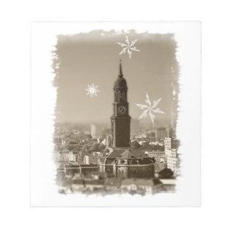 sankt+michaelis+kirche hamburg weihnachten michel notizblöcke