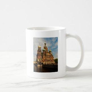 Sankt Petersburgo 01 Taza Básica Blanca