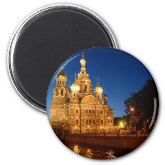 Sankt Petersburgo 04 Imán Redondo 5 Cm