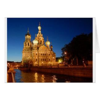 Sankt Petersburgo 04 Tarjeta De Felicitación