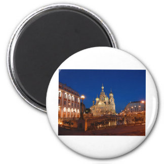 Sankt Petersburgo 08 Imán Redondo 5 Cm