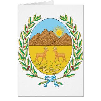 sanluis, Argentina Greeting Card