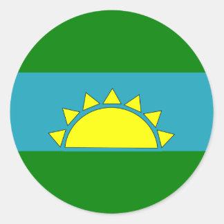 sanluis, Columbia Classic Round Sticker