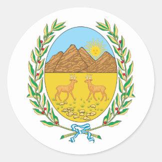 sanluis, la Argentina Pegatina Redonda