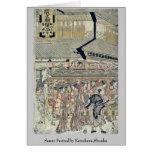 Sanno Festival by Katsukawa,Shunko Cards