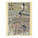 Sanno Festival by Katsukawa,Shunko Post Cards