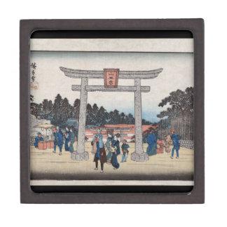 Sannō Shrine at Nagatanobaba Gift Box Premium Trinket Box