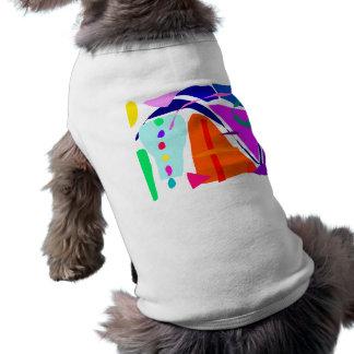 Sano sano local de la restauración del tiempo el c camisa de mascota