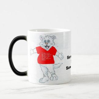 Sano The Cat Magic Mug