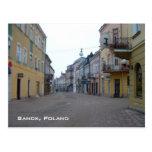 Sanok Post Card