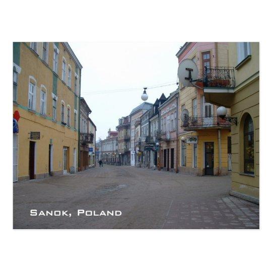 Sanok Postcard