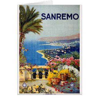 Sanremo Greeting Card