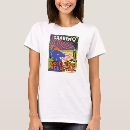 sanremo hotel label  female tee-shirt T-Shirt