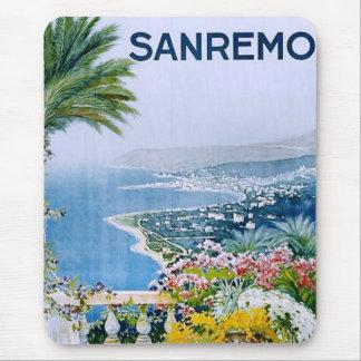 Sanremo, Italia Mousemat Tapete De Ratón