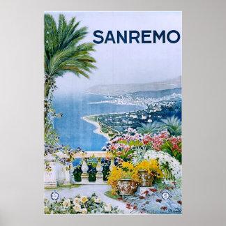 Sanremo, Italy Print (no border)