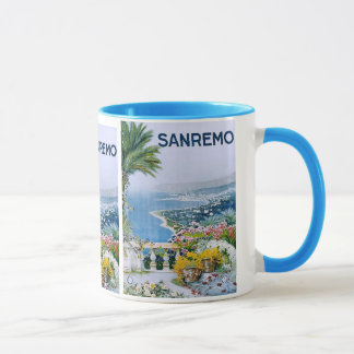 Sanremo, Italy Ringer Mug (Plated)