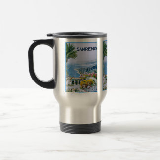 Sanremo, Italy Stainless Steel Travel/Commuter Mug