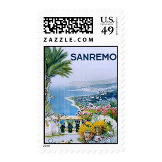 Sanremo, Italy U.S. Postage Stamps