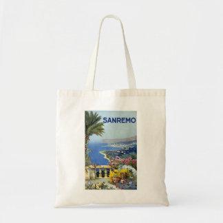 Sanremo Italy Vintage Tote Bags