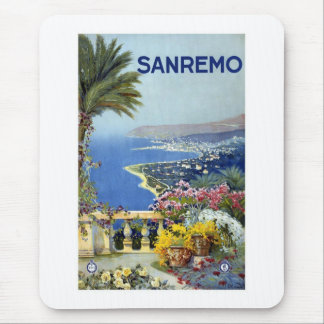 Sanremo Italy Vintage Mouse Pad