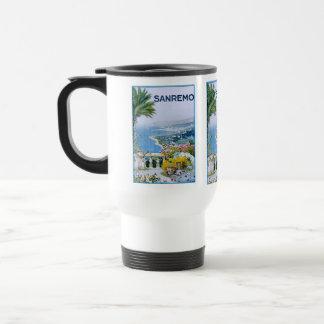 Sanremo, Italy White Travel/Commuter Mug