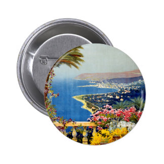 Sanremo Pinback Button