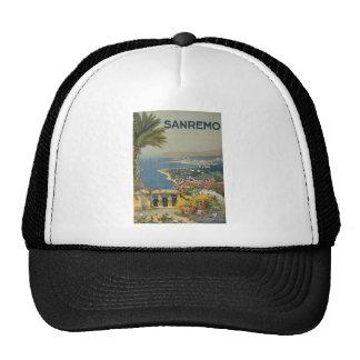Sanremo poster 1920 trucker hat