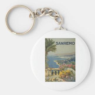 Sanremo poster 1920 keychain