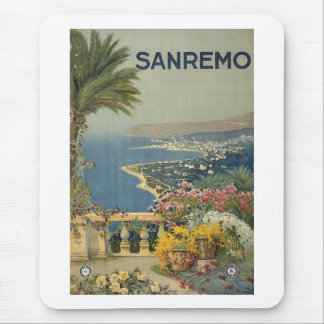 Sanremo poster 1920 mouse pad