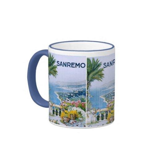 Sanremo, taza del campanero de Italia (plateada)
