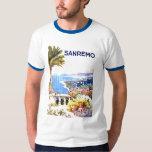 Sanremo Vintage Travel Poster T-Shirt