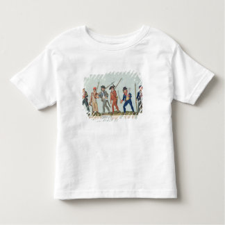 Sans Culotte Lighting his Pipe Toddler T-shirt