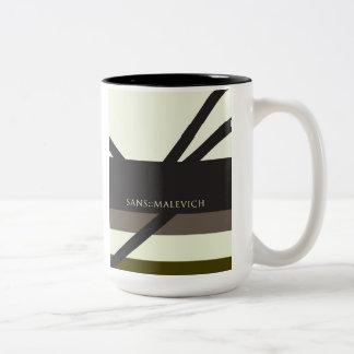 """""""Sans Malevich"""" Coffee Mugs"""