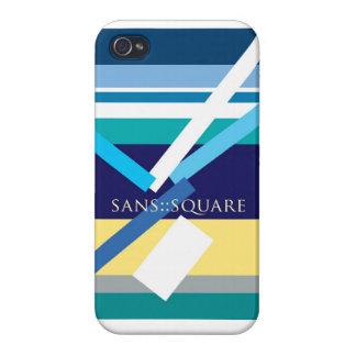 """Sans Square"" iPhone 4/4S Cases"