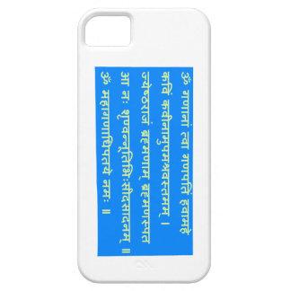 Sanskrit Mantra Ganapati Ganesh Ganesha GIFTS iPhone 5 Cases