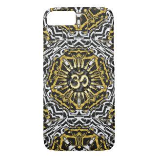 Sanskrit Om Gold Pentagon Wild One iPhone case