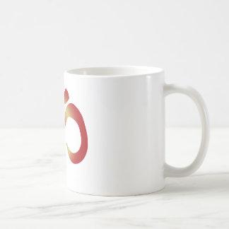 Sanskrit Om in Sunset Colors Coffee Mug