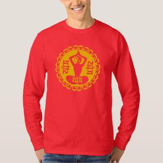 Sanskrit & Yin Yang Yoga Symbol Shirt