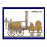 Sanspareill, tren temprano del vapor postal