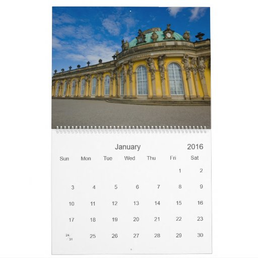 Sanssouci 2011 Calendar