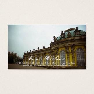 Sanssouci Palace Business Card
