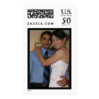 Sant and Sarah married Postage
